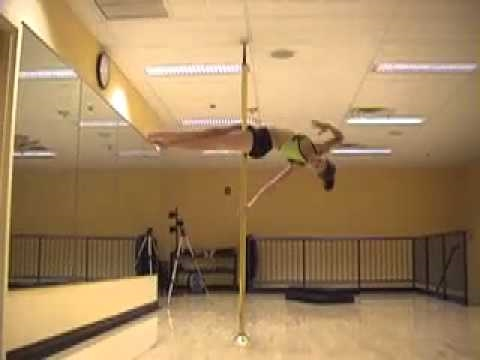 Hanka Venselaar  freestyle demo at Awakenings Pole Dance Fitness