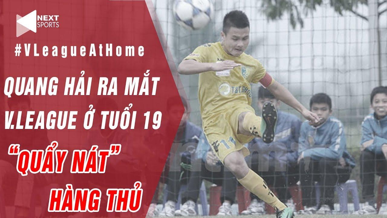 Nhìn lại trận đấu đầu tiên của Quang Hải tại V.League | Quẩy nát hàng thủ đối phương! | NEXT SPORTS
