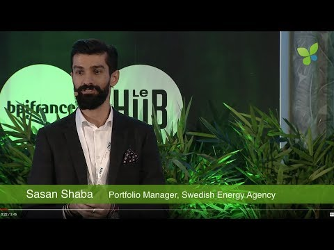 ECO18 Paris: Sasan Shaba Swedish Energy Agency