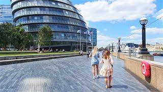 Walking from London Bridge to Tower Bridge | London Walking Tour 2020
