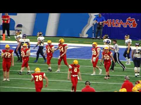 Reading High School vs  Breckenridge High School 2018 Michigan High School  Football State Finals