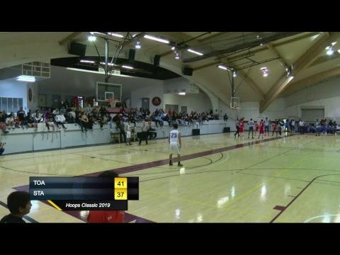 Hoops Classic 2019 (The Oaks Adventist Christian School v.s. South Texas Christian Academy)