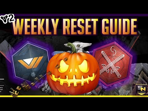 Destiny 2 | Sly Nation's Weekly Reset Guide- Raid, Rewards, Nightfall & HAPPY EFFN HALLOWEEN!