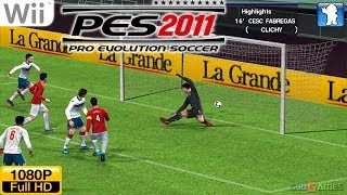 Pro Evolution Soccer 2011   - Wii Gameplay 1080p (Dolphin GC/Wii Emulator)