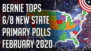 8 New State Primary Polls - NV, SC, CA, TX, NC, MN, IL - February 2020 Follow me on Twitter: twitter.com/PoliticFor ecast  8 New State Primary Polls - NV, SC, CA, TX, NC, MN, IL - February 2020 Election Predictions - Election ..., From YouTubeVideos