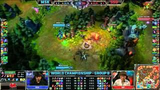 msk vs sso   mineski vs samsung galaxy ozone   worlds 2013 group stage day 2   full game hd