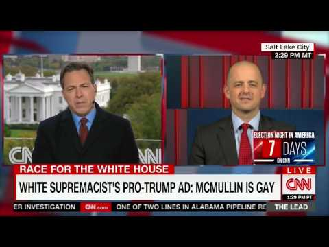 Evan McMullin Responds to Attacks From White Supremacists on CNN