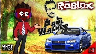 ROBLOX indonesia #134 Vehicle Simulator | Beli mobil Kesayangan Paul Walker