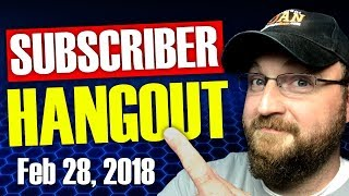 CF LIVE!   SUBSCRIBER HANGOUT   Q&A   LIVE STREAM CHANNEL REVIEWS