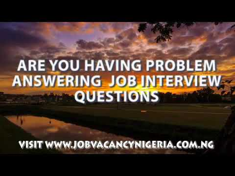Job Vacancy In Nigeria,  Recruitment Center