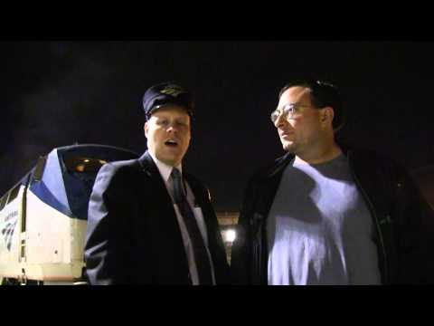 James Davey And Amtrak Conductor Jesse Redden: Salt Lake City, Utah