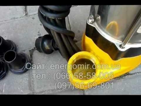 Дренажный фекальный насос SPRUT V250F energomir com ua