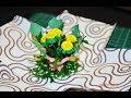 Поделки - Квиллинг мини цветы в коробке / Quilling dandelions mini Flower box with surprise.