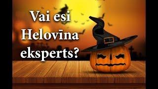 Pārbaudi, cik daudz Tu zini par Helovīnu! Tests Helovīna noskaņās.