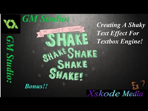 How To Program A Textbox Engine (GML) - Xskode Media (Ep7 of 5 - Bonus Video)