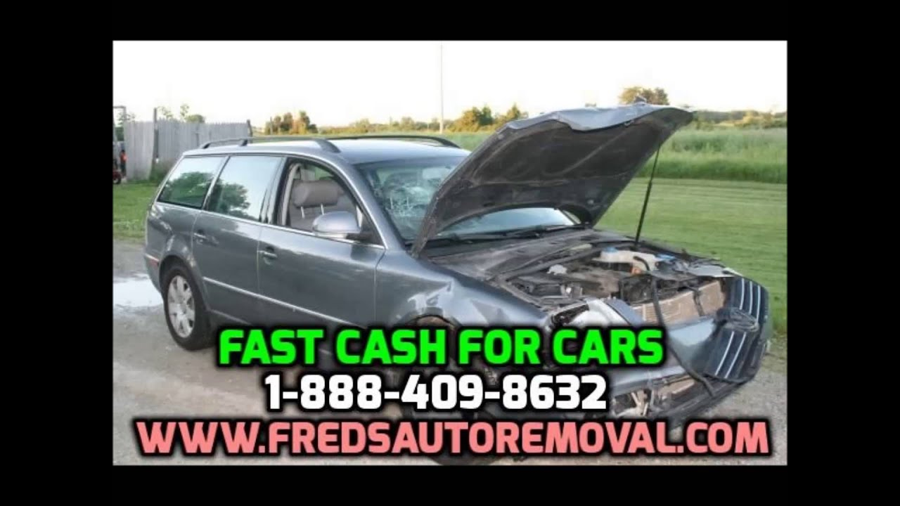 Cash for Junk Cars Portland through Freds Auto Removal Sell My Junk ...