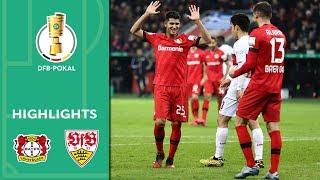 Enjoy the highlights of bayer 04 leverkusen vs. vfb stuttgart from round 16 dfb-pokal 2019/20.goals: 1-0 bredlow (72', og), 2-0 alario (83'), 2...