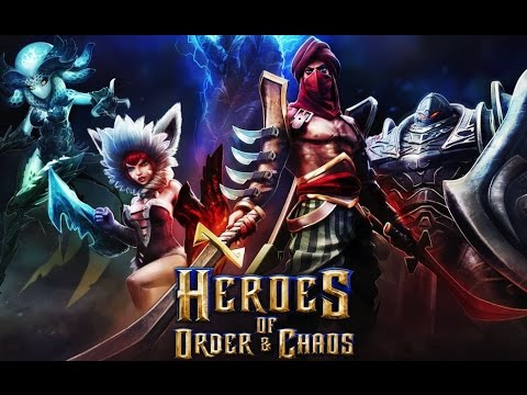 видео: heroes of order & chaos - настоящая dota на android ( review)