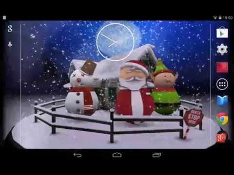 3D CHRISTMAS ADVENT SNOWGLOBE
