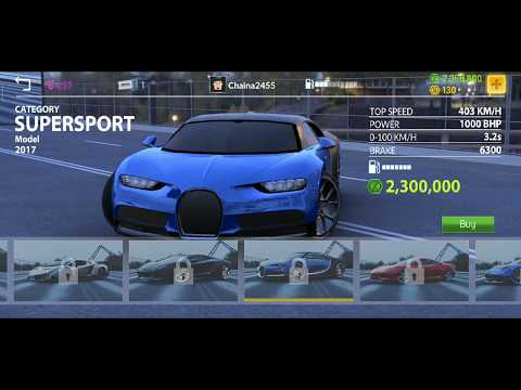 Real Car Parking 2 : Driving School 2018  - Bugatti Chiron!! Engine sound NEW UPDATE  2020 android !