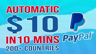 Get Paid $10 Every 10 Min Free Paypal Money: 200  Countries Worldwide! (make Money Online)