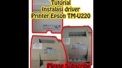 Daftar Cara Install Epson Tm U220 Tutorial Kreasi Bekas Pop Mie