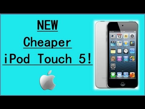 NEW Cheaper 16GB iPod Touch 5 Released !