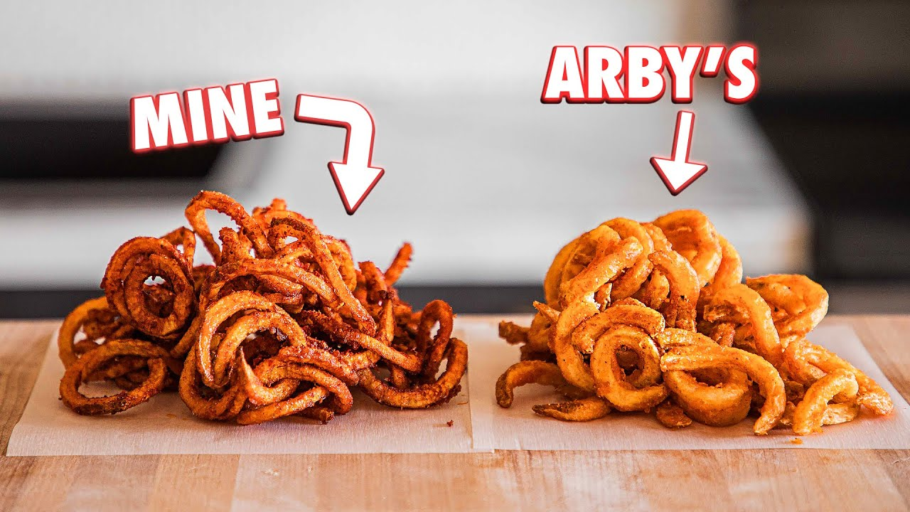 Making Arby S Curly Fries At Home But Better Youtube