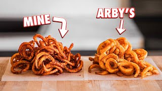 Making Arby's Curly Fries at Home | But Better