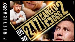 HBO 24/7 CANELO VS GGG 2 PREVIEW! GGG FAT PHOTO OLD! CANELO FOCUSING ON MOVEMENT? HBO BOXING FUTURE?
