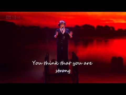 You'll See- Susan Boyle- BGT 2012 (lyrics)