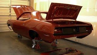 1970 Plymouth Barracuda 6.1 HEMI Build Project
