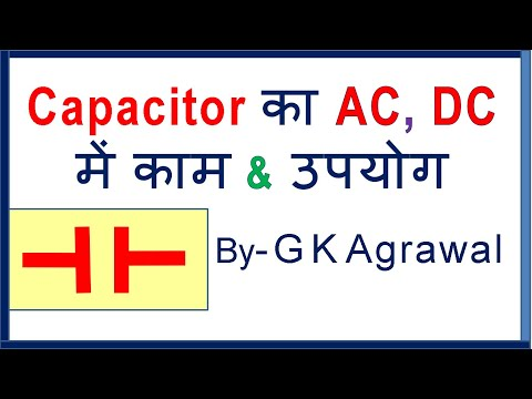 Capacitor in Hindi - what is Capacitor, how it works & uses
