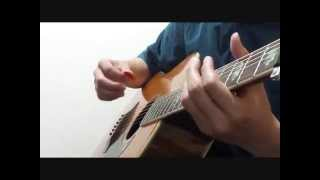 Let It Be / THE BEATLES / pick solo guitar arrange 動画をつけました...