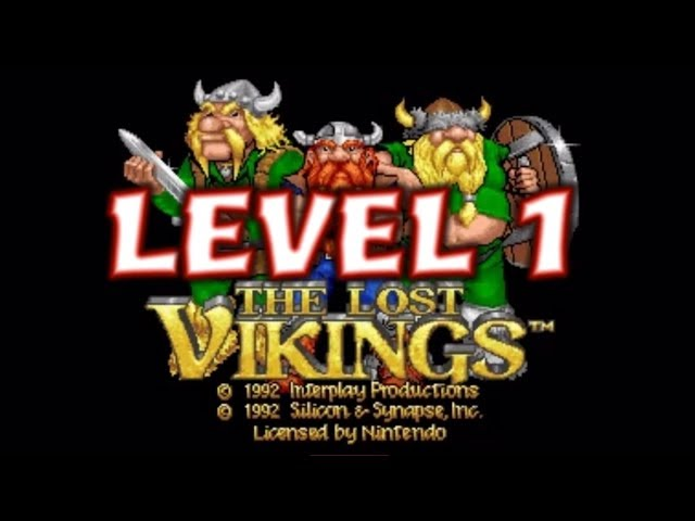 The Lost Vikings Level 1 Playthrough