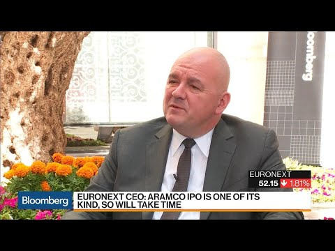 Euronext CEO Says Aramco IPO Will Take Time