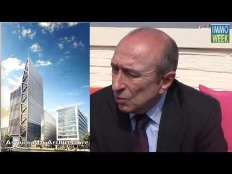Lyon : Gérard Collomb présente les projets de la Métropole