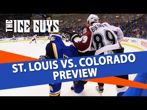 St. Louis Blues vs Colorado Avalanche | Ice Guys Clips | NHL Betting Picks