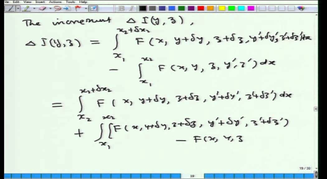 Mod-01 Lec-15 Calculus of Variations and Integral Equations