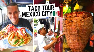 MEXICO CITY STREET FOOD | Ultimate taco tour in MEXICO | BEST AL PASTOR in Mexico City CDMX Video