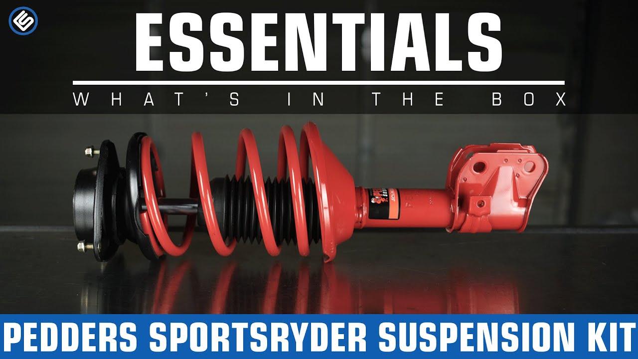 Pedders Subaru SportsRyder Suspension Kit - What's In The Box?