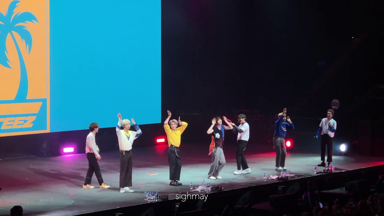 190809 ATEEZ - MET Random Dance Play (Love Shot, Baby Shark) [The Expedition Tour in Melbourne]
