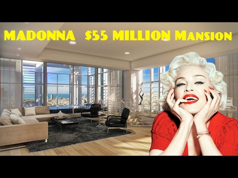 MADONNA House $55 MILLION Mansion In Israel 2017
