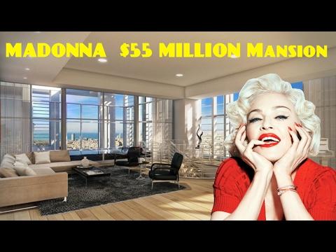 MADONNA House $55 MILLION Mansion In Israel 2017