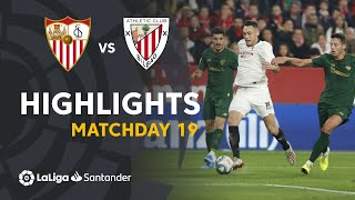 Highlights Sevilla FC vs Athletic Club (1-1)