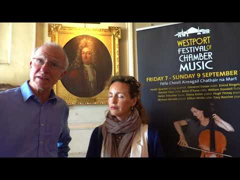 Hugh Tinney & Catherine Leonard: Westport Festival Of Chamber Music. 09.08.2018