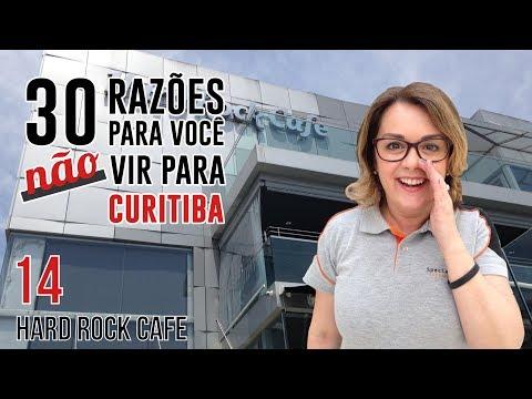 Como é o Hard Rock Café em Curitiba