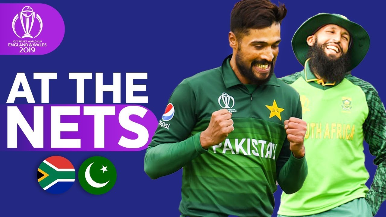 SA v PAK - At The Nets | ICC Cricket World Cup 2019