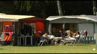 Campingplatz Gatsch Eck Mecklenburg Camping Urlaub MV Seenplatte Zeltplatz Kanu See Camper Germany