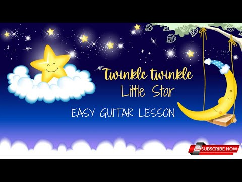 Twinkle Twinkle Little Star | Guitar Lessons | Easy Guitar Chords ...